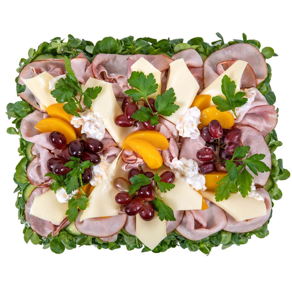 Smörgåstårta Skinka & Ost
