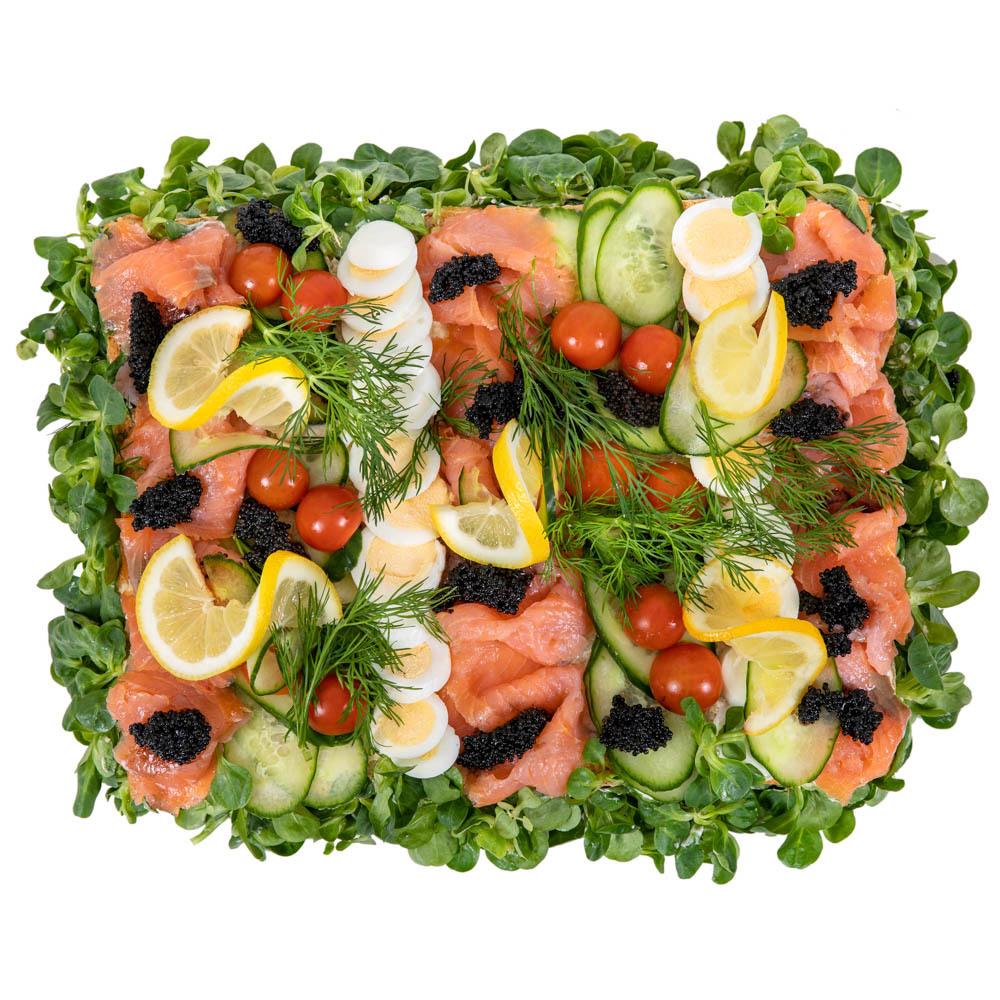 Smörgåstårta Lax & Tonfisk