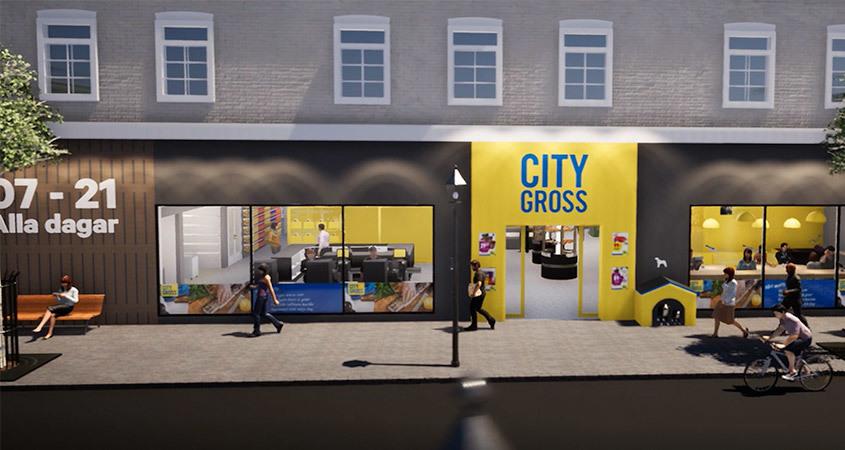 Nytt koncept City Gross