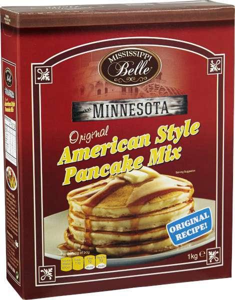 amerikanska pannkakor färdig mix