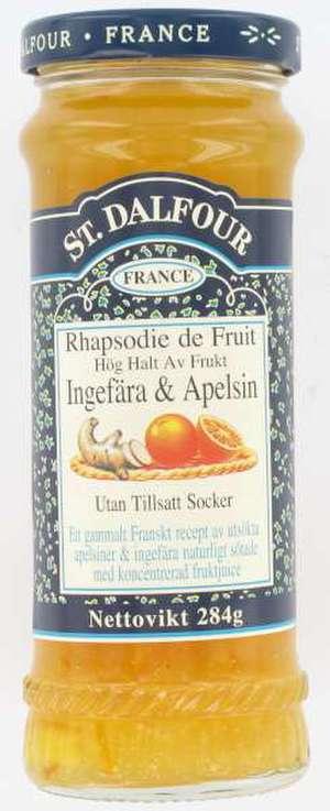 recept marmelad apelsin ingefära