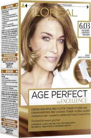 loreal age perfect hårfärg