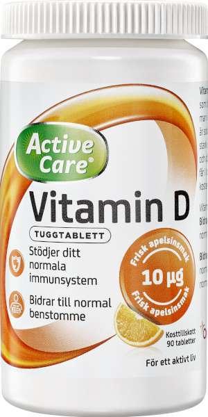 vitamin d3 tillskott