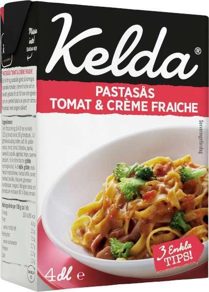 pastasås tomat och creme fraiche recept
