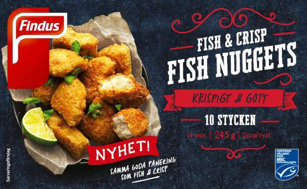 Fish & Chips, Fryst City Gross