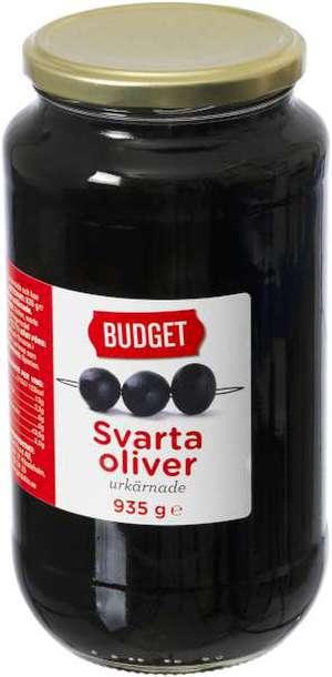 svarta oliver kcal