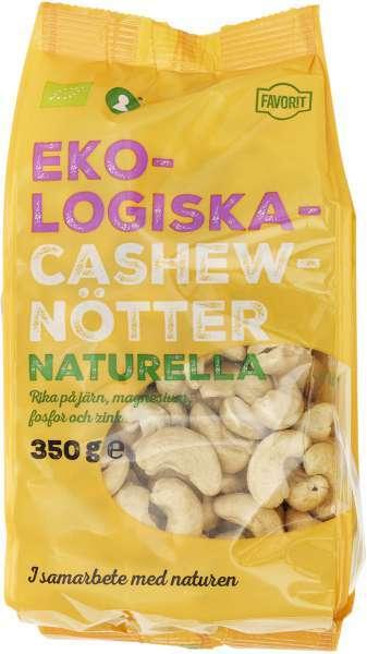 naturella cashewnötter storpack