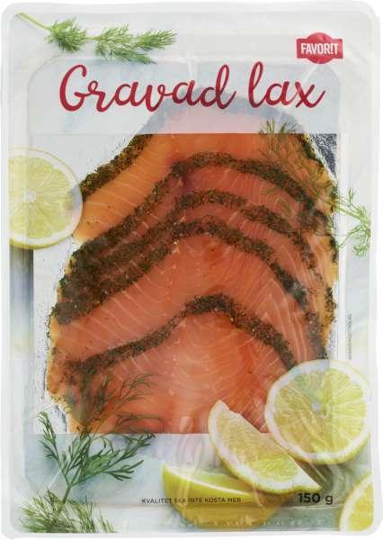 gravad lax kcal