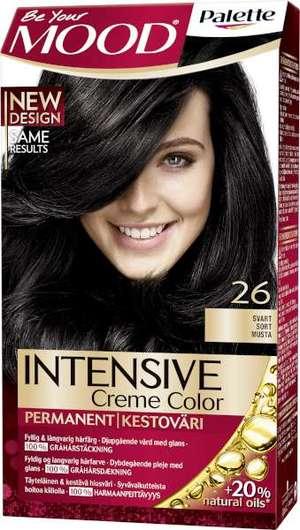 mood hårfärg svart