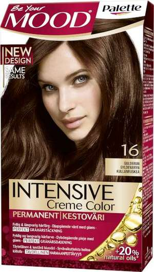 mood hårfärg brun