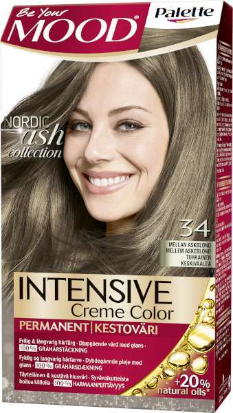 mood hårfärg askblond