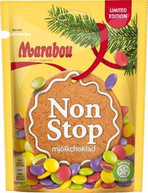 non stop choklad