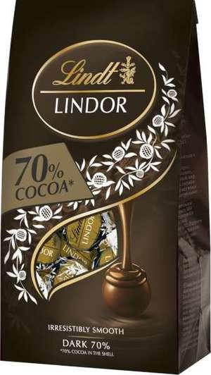 lindt mörk choklad 70